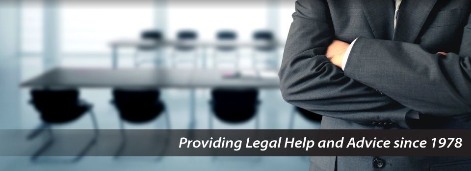 Providing Legal Help and Advice since 1978 | lawyer