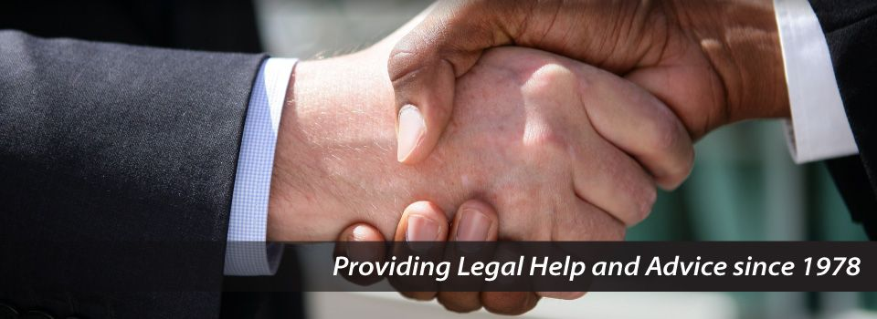 Providing Legal Help and Advice since 1978 | handshake